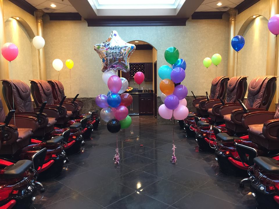 Pearland Nails & Spa Salon! VIP Party Room, VIP Birthday Party